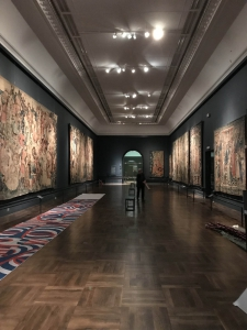 Inside the tapestries gallery